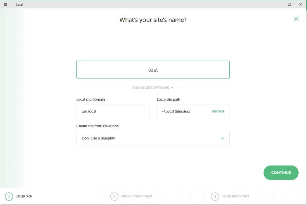 Wordpress telepítése localhostra